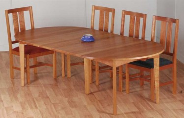 Round Extension Dining Table