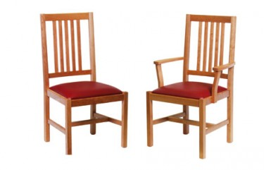 side chair and arm chair