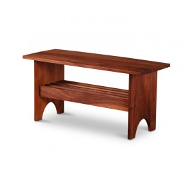 hancock bench in walnut