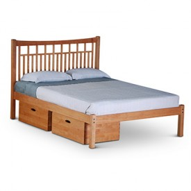 Glasgow Platform Bed With Storage