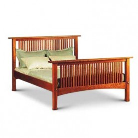 Prairie Platform Bed High Footboard