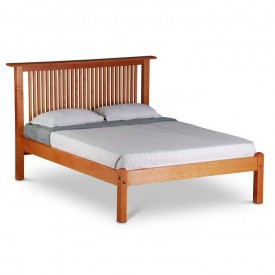 Prairie Platform Bed With low foot