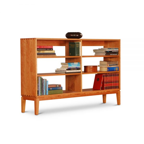 Harrison Horizontal Bookcase in cherry