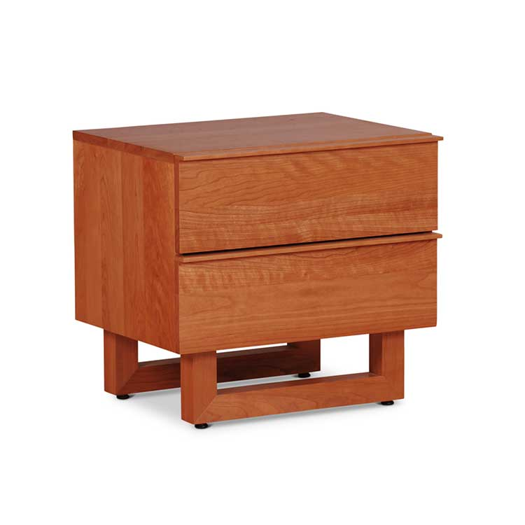 Nobleza Two Drawer Nightstand