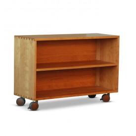 Rolling Bookcase Organizer
