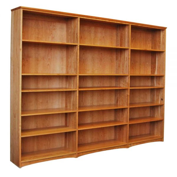 Triple Cherry Bookcase