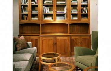 Library Cabinet in Cherry