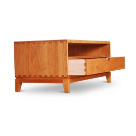 Dovetail Coffee Table - drawer pen front