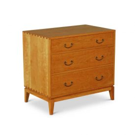 Three Drawer Dovetail Chest of Drawers
