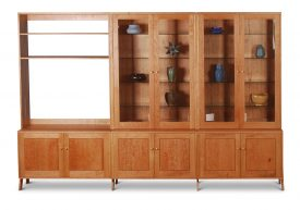 First Avenue Wall Unit in Cherry