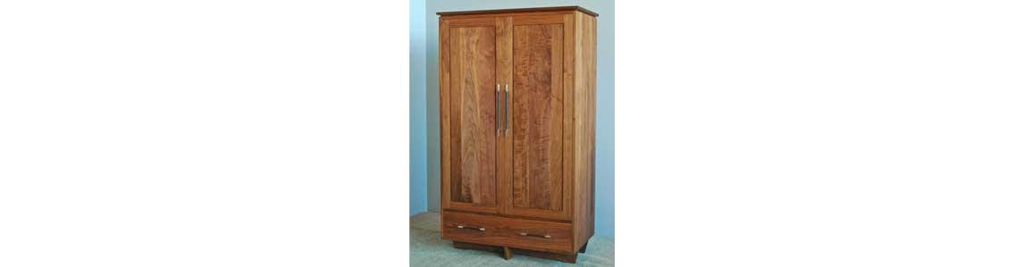 walnut armoire