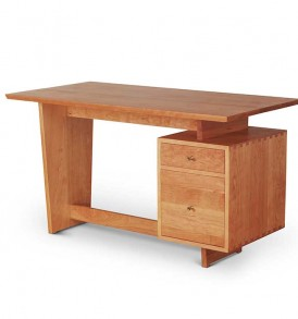 modern styled desk