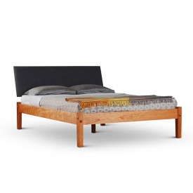 Upholstered Headboard Platform Bed
