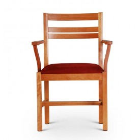 front view of arm chair