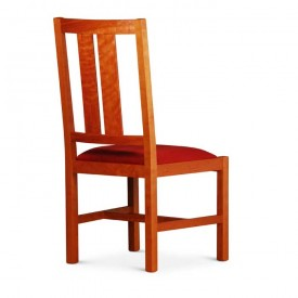 rear view of Bisbe Side Chair