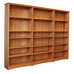 Triple Cherry Bookcase