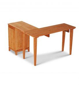 Corner Desk - rear view