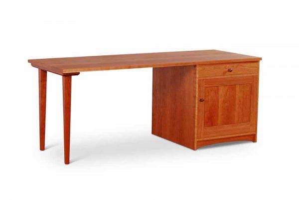 Pedestal-Desk-Cherry