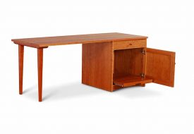 Pedestal-Desk-Cherry